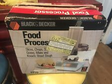 Vintage Black & Decker Food Processor FP1D NIB