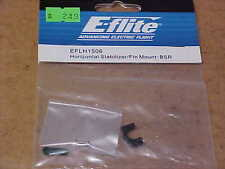 E-FLITE HELICOPTER PART - EFLH1506 = HORIZONTAL STABILIZER/FIN MOUNT : BSR (NEW)