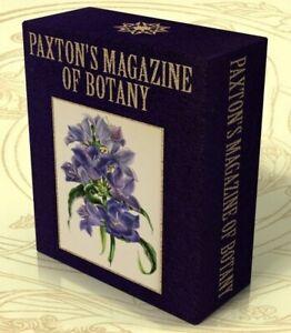 PAXTON'S MAGAZINE OF BOTANY 1834-49 on CD Botanical Illustration, Flowers,