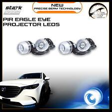 Eagle Eye 18mm Projector BLUE 10K LED Fog Light DRL Backup Signal Bulbs - 4 PCS