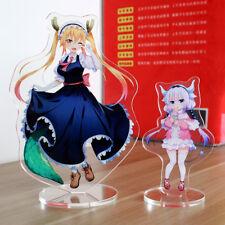 2pcs Miss Kobayashi's Dragon Maid Kamui Kanna Tohru Dragon Tail Stand Figure