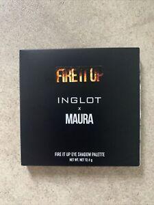 Inglot X Maura Fire It Up Eyeshadow Palette