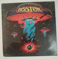Boston Self Titled Vinyl Record LP EPC 81611 1976 Epic RARE Spain Press VG++ / G