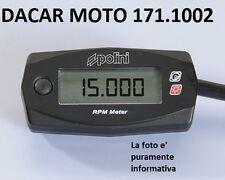 171.1002 CUENTARREVOLUCIONES RPM POLINI BMW : C 600 SPORT - C 650 GT