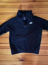 Nike Sz. Xs Black Fleece Athletic Quarter Zip Pullover