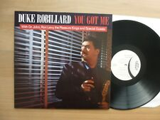 Duke Robillard - You Got Me   LP GER 1988  Vinyl  m-