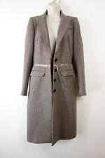Alexander McQueen Wool Coat MCQ zip detail coat size S