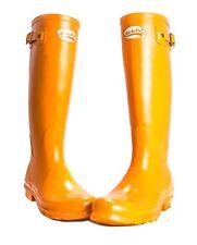 RRP - £ 94 Damas Chicas Invierno Botas de Lluvia Wellies Wellington Rockfish zanahoria Talla 3