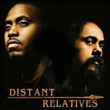 """DAMIAN """"JR. GONG"""" MARLEY/NAS - DISTANT RELATIVES NEW CD"""