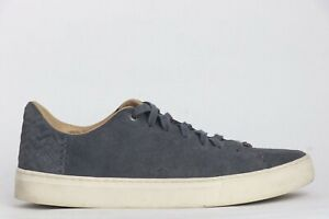 Toms Men's Gray Canvas Lace Up Sneakers Shoes Size 12 US