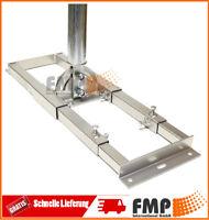 Profi Dachsparrenhalter 1m Mast Aufsparrenhalter Sparrenhalter 48 mm SAT Halter