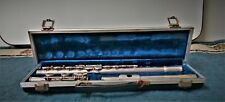 Vintage E.L. Deford Student Flute With Hard Shell Case For Repair