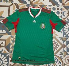 MEXICO NATIONAL TEAM 2010 2012 HOME FOOTBALL SOCCER SHIRT JERSEY ADIDAS RARE M