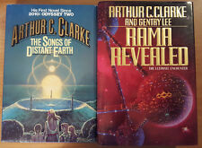 Arthur C. Clarke - Lot of 3 Hard Cover - Rama, Songs of Distant Earth, Fountains