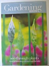 Gardening Which? Magazine. August, 2001. See-through plants. Herbaceous clematis