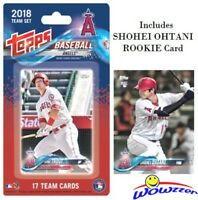 2018 Topps LA Angels EXCLUSIVE Limited Edition 17 Card Team Set-SHOHEI OHTANI RC
