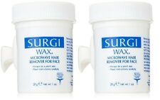 2 Pack Surgi Care Wax Hair Remover for Face 1 oz Maple Honey NO Strips Needed