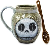 Disney Jack Skellington Mug & Spoon - Nightmare Before Christmas [Free Shipping]