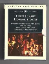 Three Classic Horror Stories Set Dr Jekyll Mr Hyde Dracula Frankenstein cassette