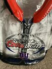 NFL Coors Light NY Giants Inflatable Shoulder Pads