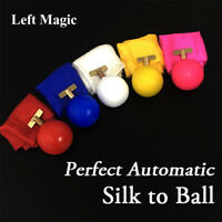 Perfect Automatic Silk to Ball Magic Tricks Magician Stage Illusion Gimmick Prop