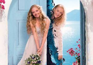Mamma Mia! Amanda Seyfried Meryl Streep Poster Print A6 A5 A4 A3 A2 A1 A0