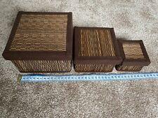 3 x Decorative Boxes