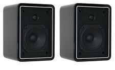 SpeakerCraft Roots 650 Satellite/Bookshelf Speakers - Gloss Black - Pair - NEW