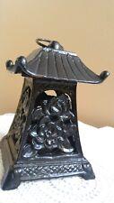 Heavy Metal Asian Pagoda Lantern Tealight