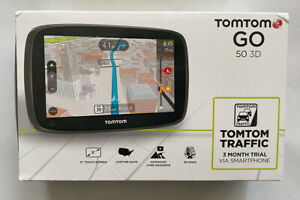 TomTom GO 50 3D GPS Car Navigation in Box FREE SHIPPING
