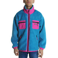 Obey Out There Sherpa Jacket Jacket Uomo 121800383 PTL Pure Teal