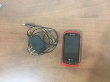 LG Xpression C395 - Red (AT&T) Cellular Phone