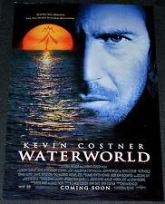 WATERWORLD 1995 ORIGINAL 11x17 ADVANCE MOVIE POSTER! KEVIN COSTNER SCI-FI ACTION