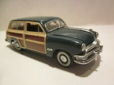 New ListingFranklin Mint 1/43 Diecast 1950 Ford Woody Station Wagon Classic'50s Cars Series