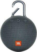 JBL Clip 3 Rechargeable Waterproof Portable Wireless Bluetooth Speaker Blue