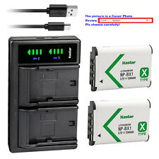 Kastar Battery LTD2 Charger for Sony NP-BX1 BC-CSX & Sony Cyber-shot DSC-RX1R