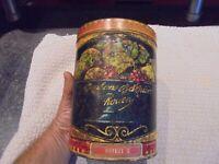 Ancienne Grande Boite Tôle Bonbons Barnier Rouen Conforme Lois en Vigueur 1901