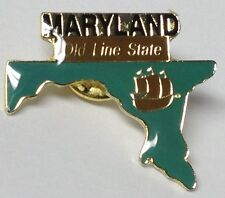 MARYLAND STATE LAPEL PIN HAT TAC NEW