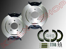 Bremsscheiben Bremsklötze Handbremse Federn hinten Chrysler Stratus 1995-2000