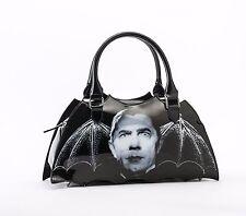 Rock Rebel Dracula Bat Shaped Handbag Bag Purse Goth Punk Movie Vampire Bite