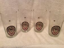 4 KILLIANS IRISH RED BEER PINT 16oz GLASSES Etched Bottom New