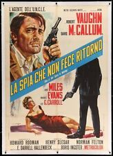 MAN FROM UNCLE ONE OF OUR SPIES IS MISSING Italian 2F movie poster 39x55 Linen