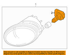 GM OEM-Foglight Fog Light Bulb 93190464
