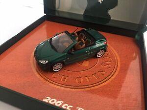 Norev 1/43 Coffret Peugeot 206 CC Roland Garros