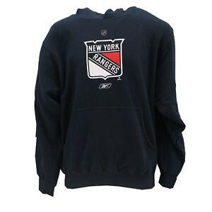 New York Rangers Official NHL Kids Youth Hooded Sweatshirt Kangaroo Pocket New