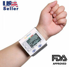 Wrist Blood Pressure Monitor BP Cuff Machine Automatic Digital Home Test Device