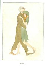 Publicité ancienne danse  illusion 1925 issue de magazine