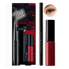 [KANEBO KATE] Sharp Lock Gel Eyeliner Pencil BLACK & RED Mascara SET LIMITED NEW