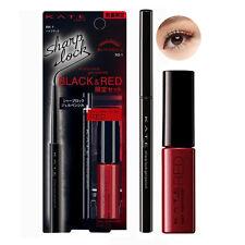 [KANEBO KATE] Sharp Lock Gel Eyeliner Pencil BLACK & RED Mascara SET LIMITED NEW