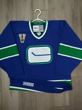 2003 Vancouver Canucks Vintage Series CCM Jersey Size Medium